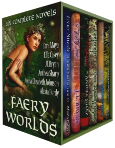 Fairy Worlds Boxed Set Art