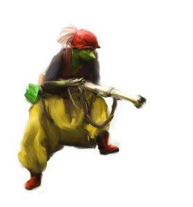 Feyland Redcap Goblin by: http://pixjigsaw.deviantart.com/